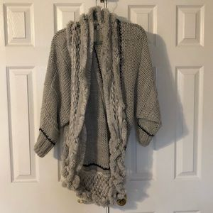 Anthropologie Angel of the North Sweater size XS/S
